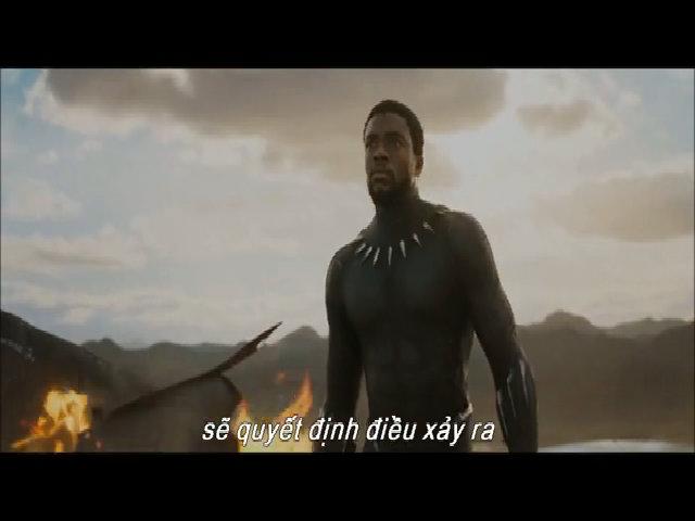 Siêu anh hùng báo đen trở lại trong bom tấn Black Panther