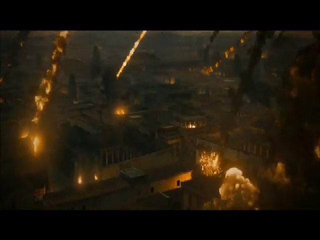 """Núi lửa trong """"Pompeii"""""""