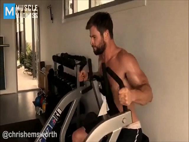 Chế độ tập luyện của Chris Hemsworth