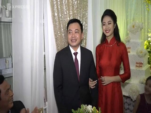 Hoa hậu Thu Ngân: 'Tôi không ngại mang tiếng phụ thuộc chồng'