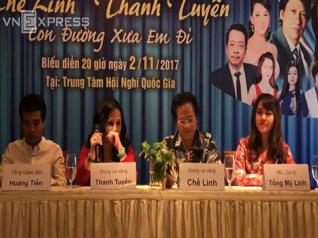 Thanh Tuyền chia sẻ về sức khỏe trước liveshow