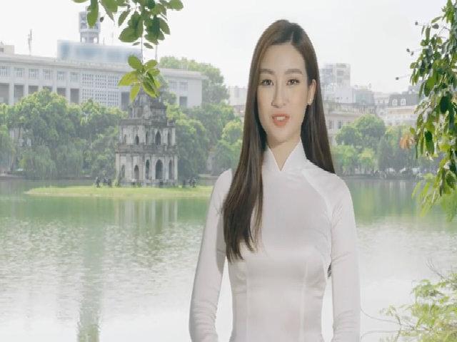 Mỹ Linh thể hiện khả năng tiếng Anh khi khoe vẻ đẹp Hà Nội