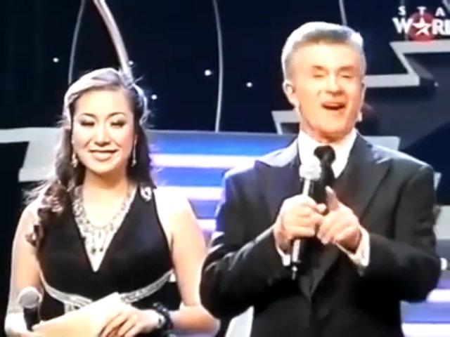 Ngô Phương Lan làm MC tại Mrs. World 2009