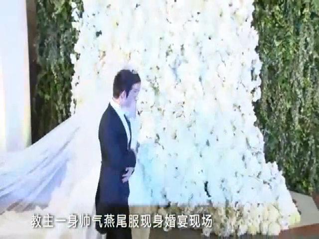 Huỳnh Hiểu Minh, Angelababy ngày cưới