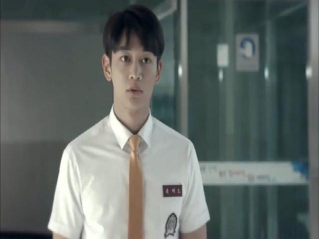 Minho và Yoona trong phim 'Because tt's the first time'