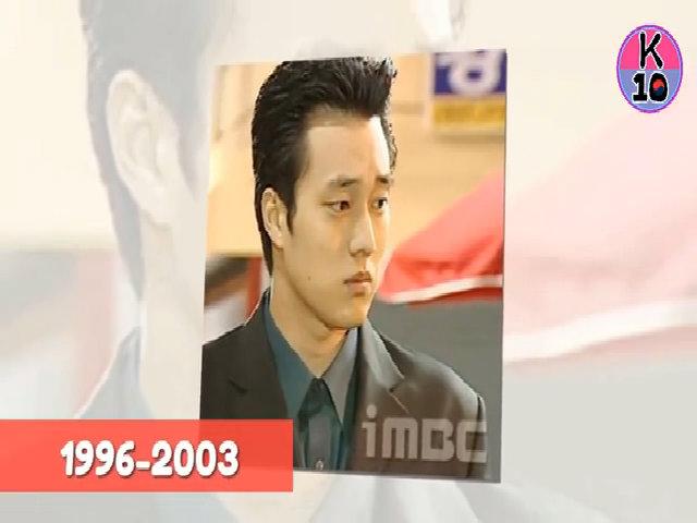 Biến đổi ngoại hình của So Ji Sub hơn 20 năm