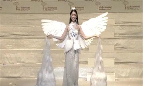 Các phần thi của Thùy Dung tại chung kết Miss International