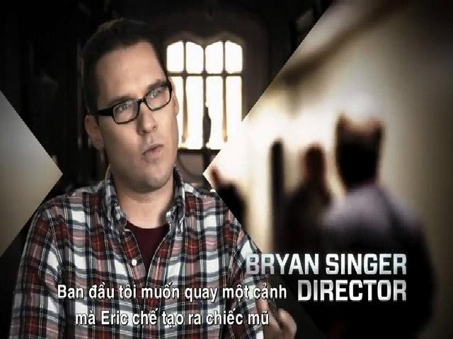 Bryan Singer khi chỉ đạo loạt phim 'X-Men'