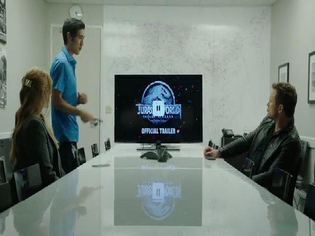 Đoạn phim hài hước khi Chris Pratt upload trailer