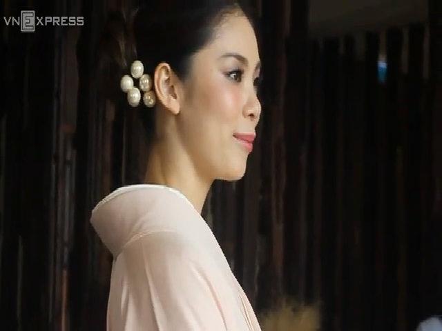 Hoa hậu Hoàn vũ 2007 khen ngợi sắc vóc Hồng Nhung