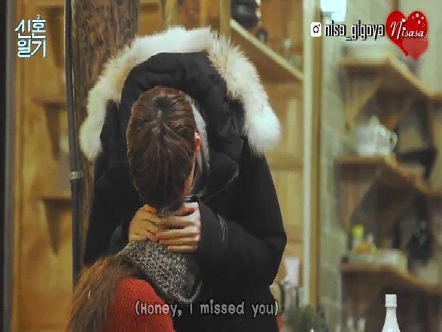 Goo Hye Sun và Ahn Jae Hyun trên show thực tế