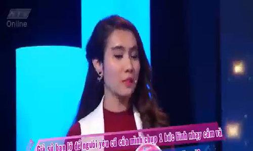 Võ Thanh Hòa chơi game ứng xử với bạn gái