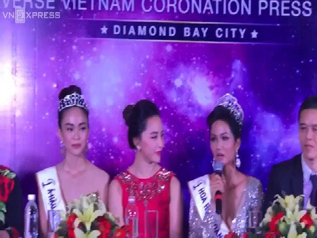 Tân hoa hậu Hoàn vũ chia sẻ sau khi đăng quang