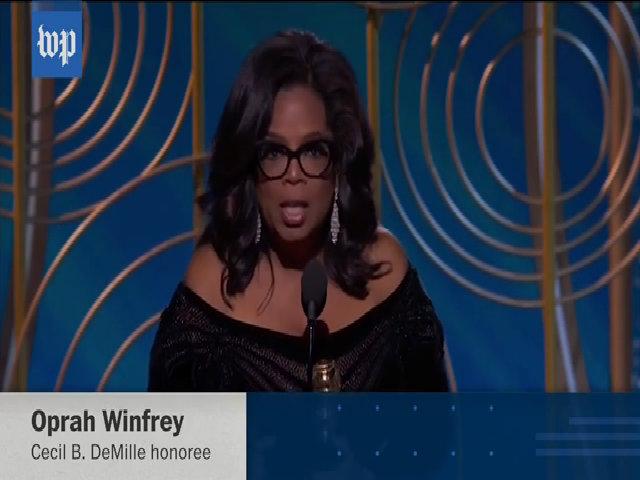 Bài phát biểu của Oprah Winfrey tại Quả Cầu Vàng