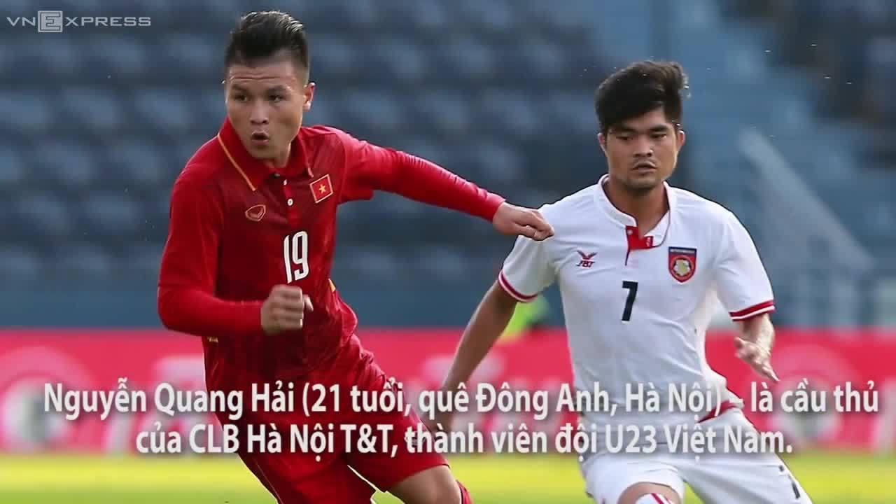 Tiền vệ Quang Hải - vua của các giải trẻ
