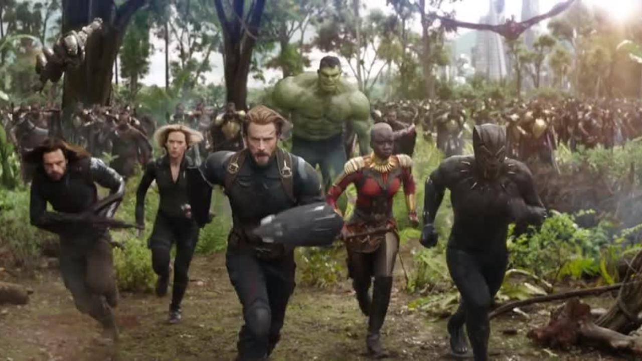 "Trailer ""Avengers: Infinity War"""