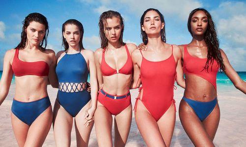 13 siêu mẫu mặc áo bơi