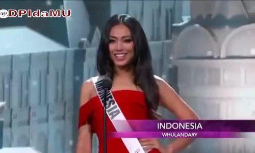 Khoảnh khắc thi Miss Universe của Hoa hậu Indonesia 2013
