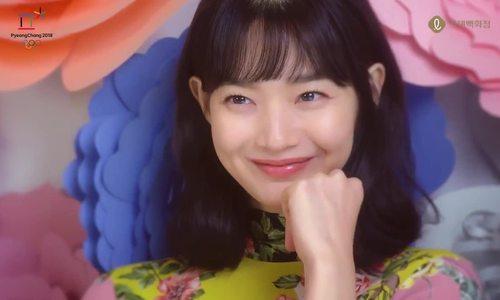 Shin Min Ah rạng rỡ chụp quảng cáo
