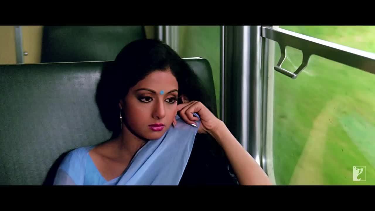 """Sridevi trong MV """"Chandni O Meri Chandni"""""""