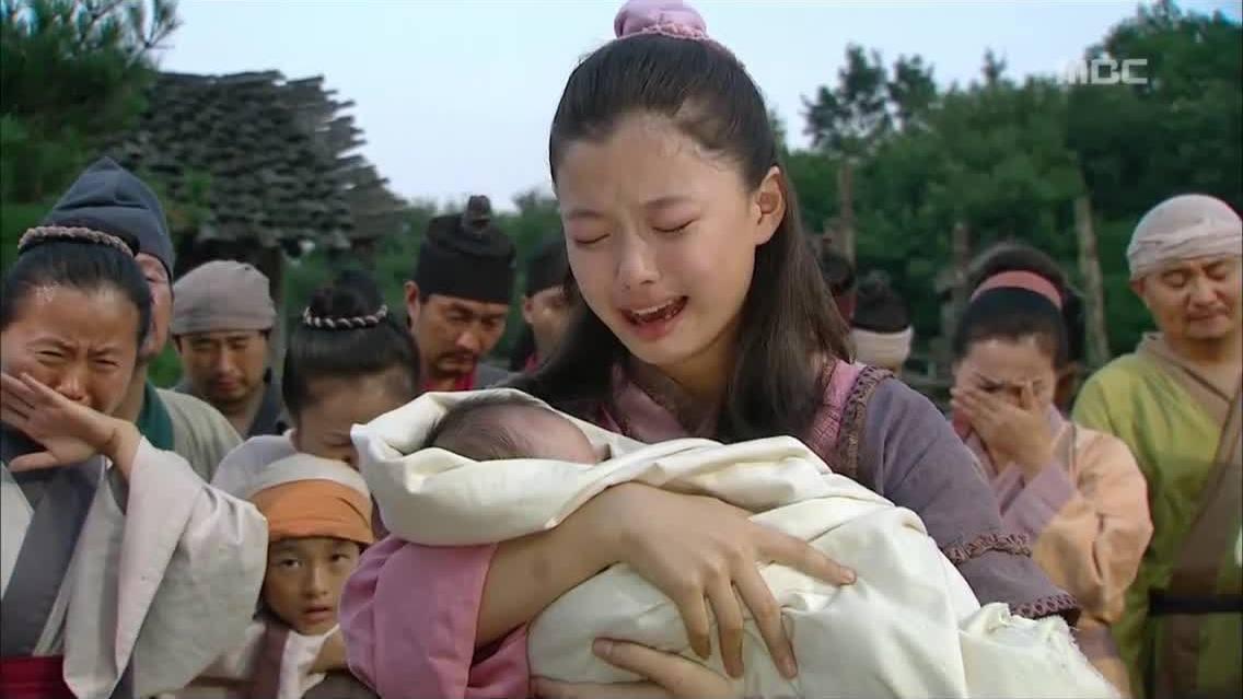 Kim Yoo Jung trong phim 'Tướng quân Gye Baek'