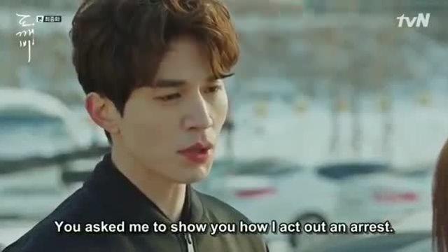 """Lee Dong Wook trong phim """"Yêu tinh"""""""