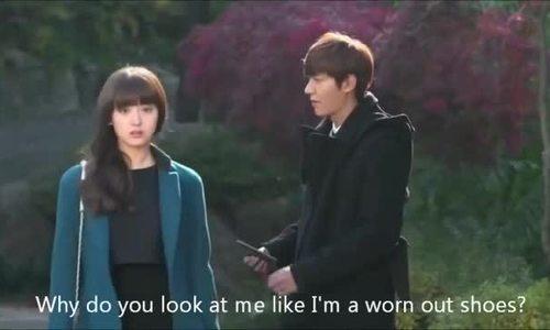 """Kim Ji Won và Lee Min Ho trong """"Người thừa kế"""""""