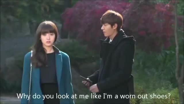 """Kim Ji Won và Lee Min Ho trong """""""