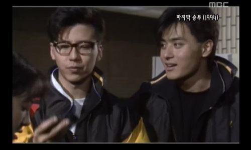 """Son Ji Chang và Jang Dong Gun trong """"Cú nhảy cuối cùng"""""""