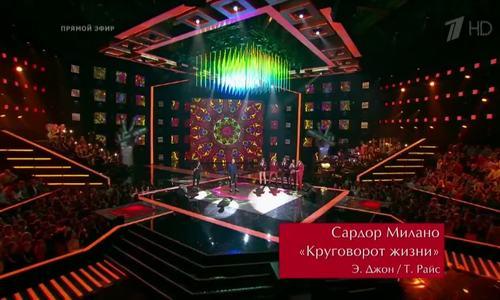 Sardor Milano thi vòng chung kết The Voice 2016 của Nga