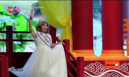 """""""Cô Đẩu"""" Công Lý thi hoa hậu trong """"Táo quân 2018"""""""