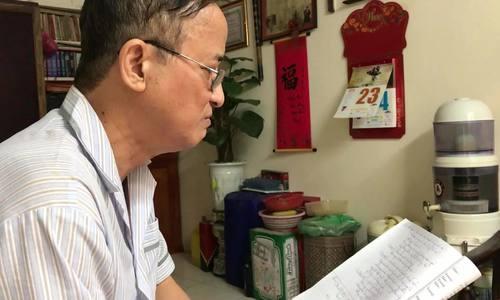 """NSUT Xuân Hanh hát """"Người về nơi đất cũ""""."""