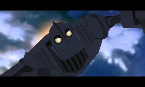 Robot ngăn chặn tên lửa trong The Iron Giant