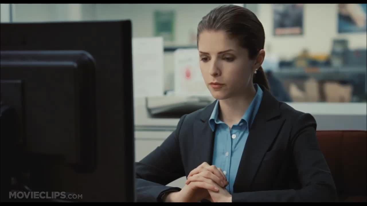"Cảnh diễn của Anna Kendrick trong ""Up in the Air"""