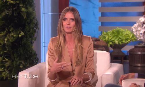 Heidi Klum nói về việc làm người mẫu ở tuổi ngoài 40