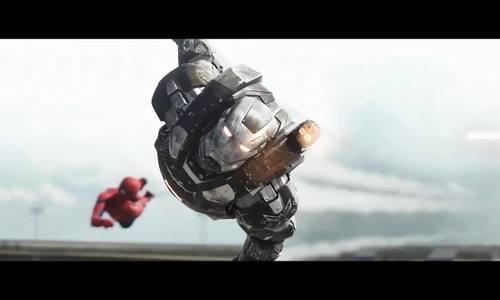 Cảnh hành động của War Machine