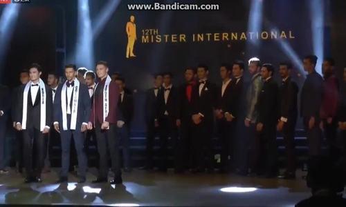 Chàng trai Hàn 25 tuổi đoạt danh hiệu Mister International 2018