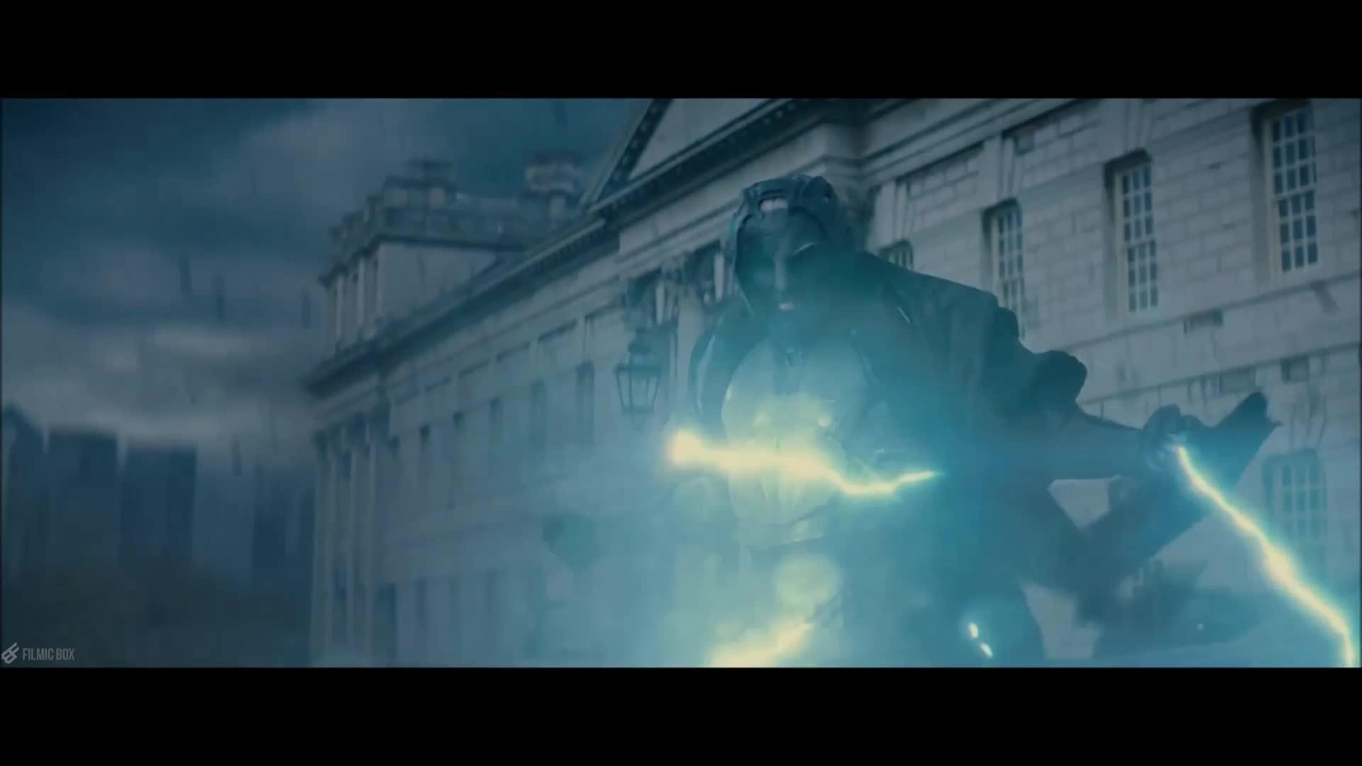Malekith đấu với Thor (Thor: The Dark World)