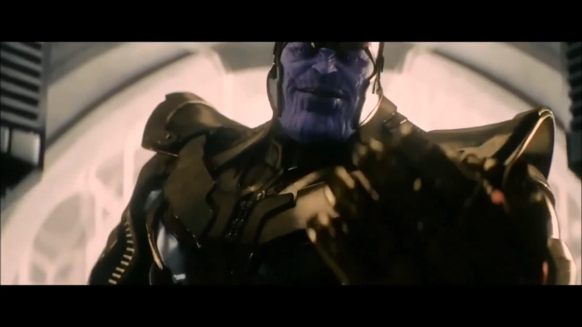 Một số cảnh của Thanos trong Marvel
