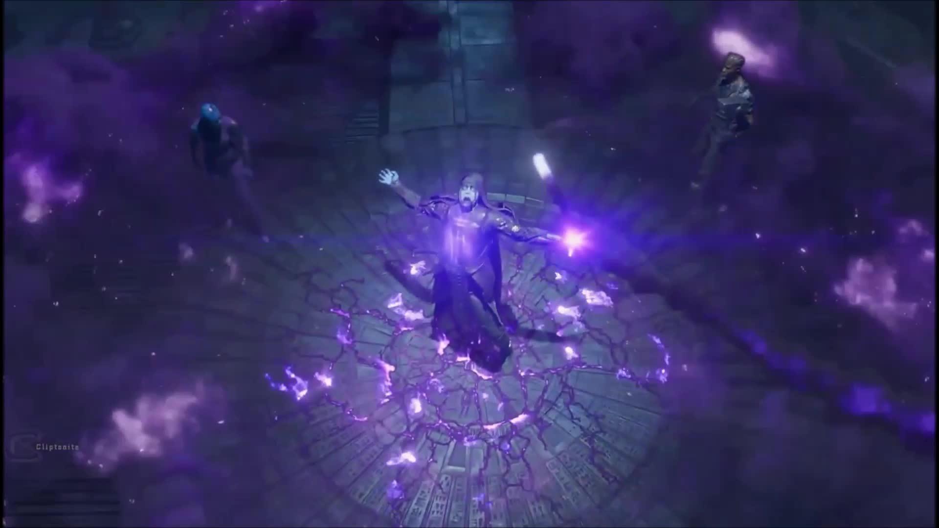Ronan mang đá Sức mạnh Guardians of the Galaxy