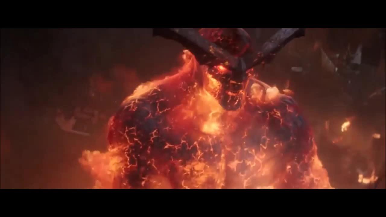 Surtur hủy diệt Asgard (Thor: Ragnarok)