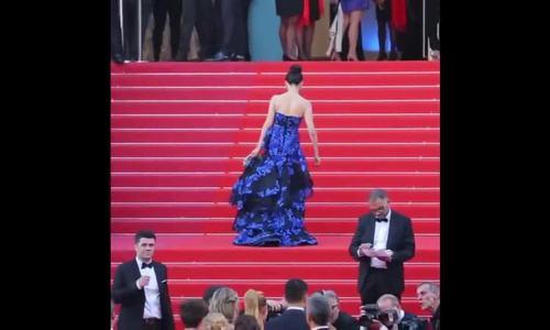 Hoa hậu quý bà ngã Cannes