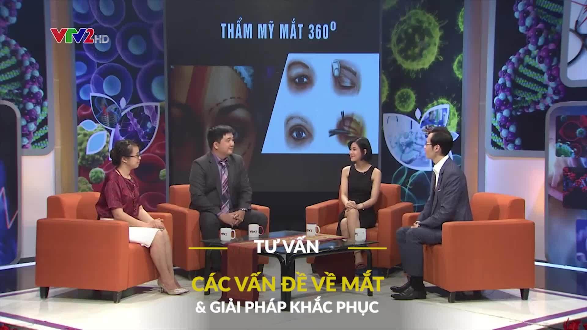 VTV2 đồng hành cùng Kangnam đưa ra giải pháp thẩm mỹ mắt an toàn