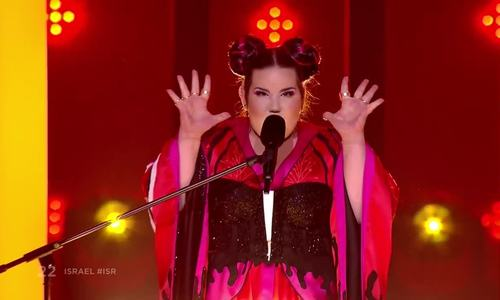 Netta Barzilai biểu diễn 'Toy' tại Eurovision