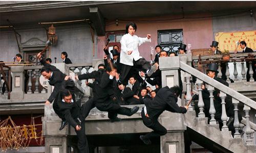 Cảnh phim Tuyệt đỉnh kungfu
