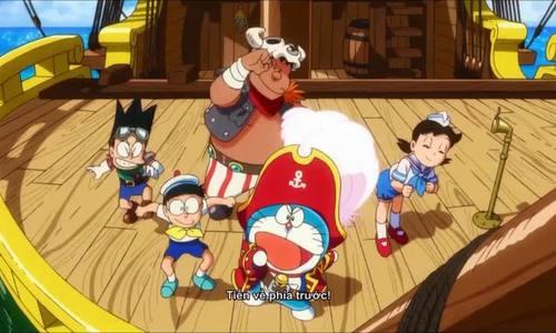 Trailer phim 'Doraemon: Nobita và đảo giấu vàng'