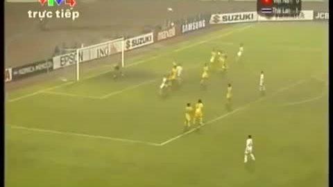 Công Vinh ghi bàn giúp Việt Nam vô địch AFF Cup 2008