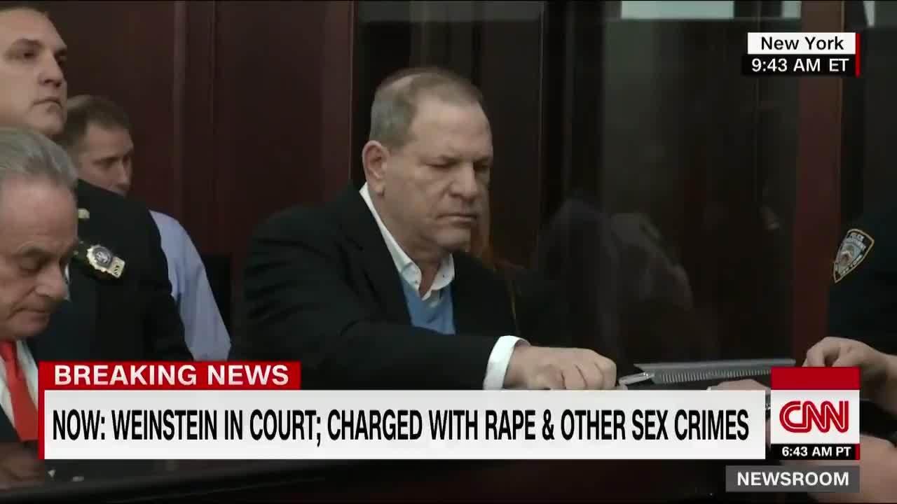 Harvey Weinstein ở toà án