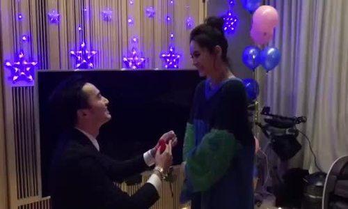 Người yêu cầu hôn Chung Hân Đồng