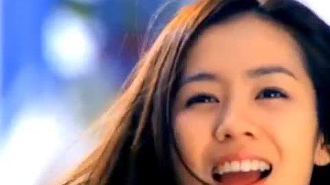 Son Ye Jin đóng quảng cáo năm 19 tuổi